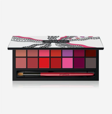 Drawn In. Decked Out. Be Legendary Lipstick Palette