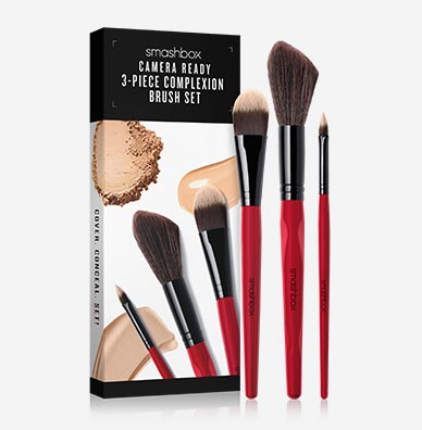 Camera Ready 3-Piece Complexion Brush Set