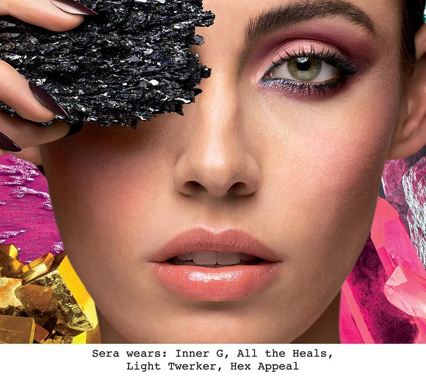 Cover Shot: Crystalized Eye Shadow Palette